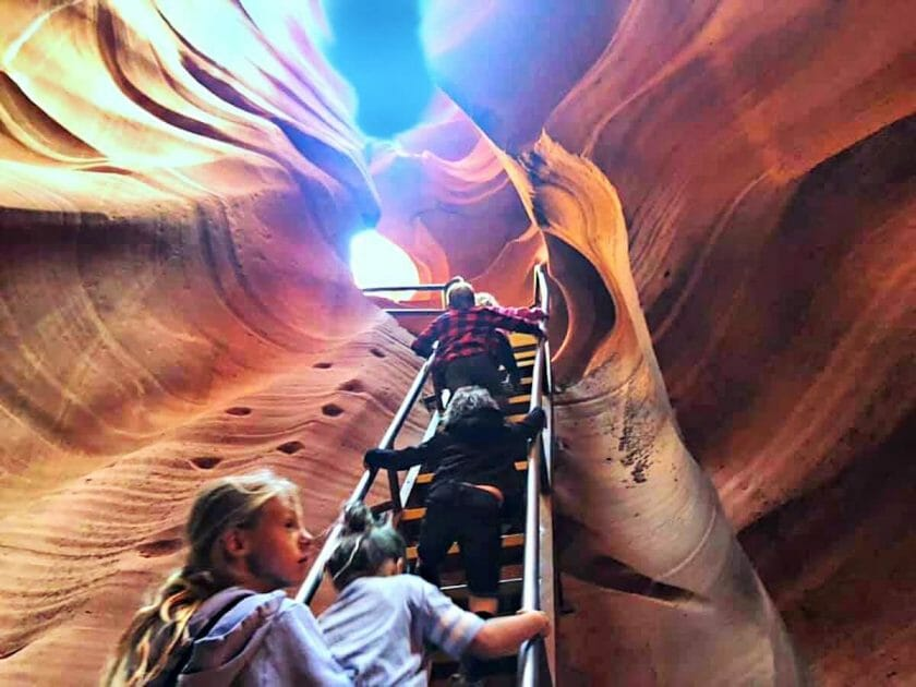 Antelope Canyon Tour one of the best things to do in page az