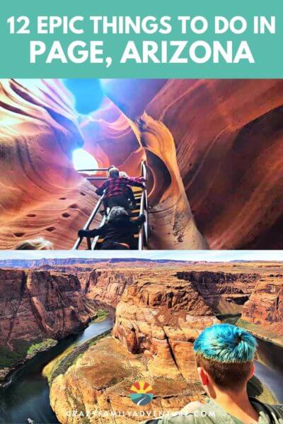 There are so many fun things to do in Page, AZ. In our post we share our top 12 best things to do! Some are free and some you have to pay for but they are all amazing!