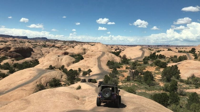 Jeep trails - things to do in Moab