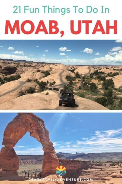 There are so many fun and adventurous things to do in Moab for the whole family! Crazy jeep trails, amazing hikes, rock climbing and more! The kids will love it and so will you. There are also great restaurants to enjoy. It's time to head to Moab!!