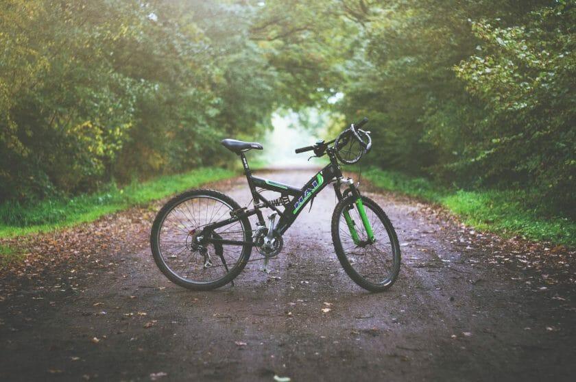 San Diego mountain bike trail