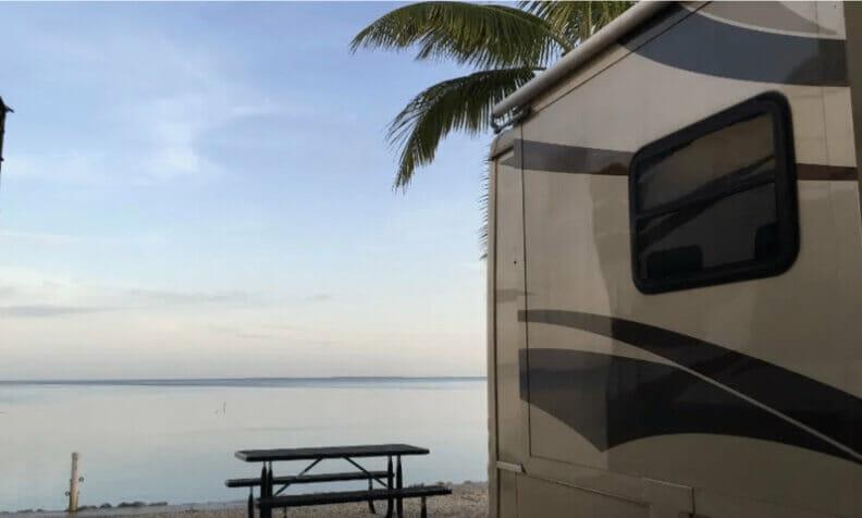 Fiesta Key RV Resort ocean site