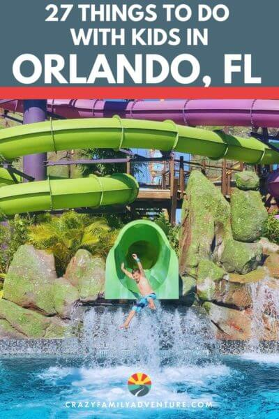 27 fun things to do in Orlando, Florida with kids! From amusement parks to museums and attractions there are so many great things to do with your family in Orlando. Come check out our list and start checking off your Orlando Bucket list activities!