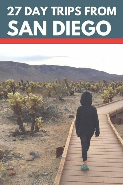 27 Day Trips From San Diego, California that you will want to take! Beaches, cities, amusement parks and more! Fun for the whole family!