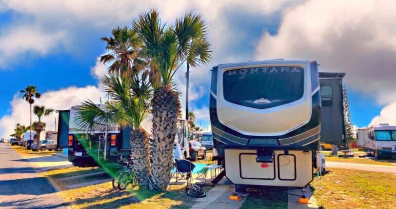 Isla Blanca RV Park rv campsites.