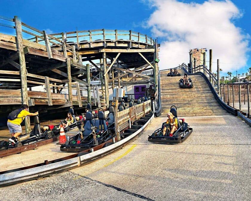 Gravity park go carts!