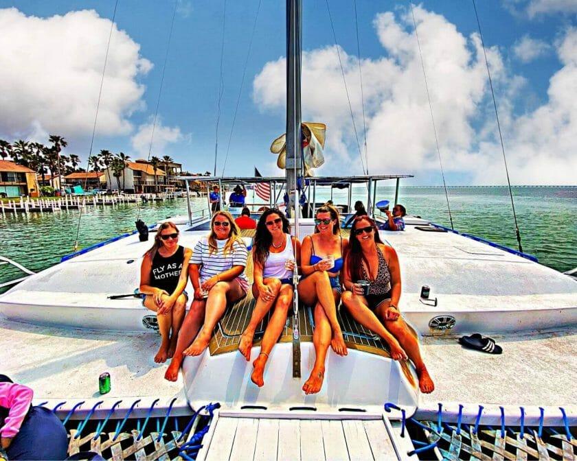 Rent a catamaran in South Padre Island