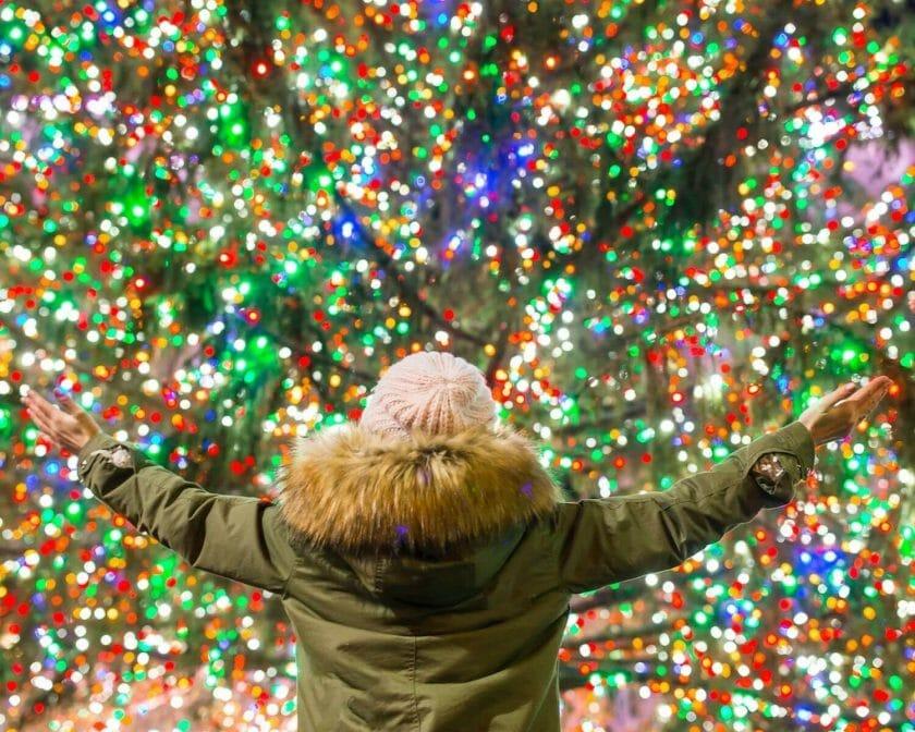 Christmas Lights in Wisconsin!