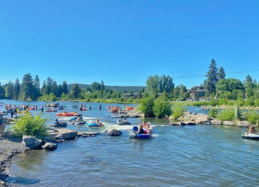 Bend River Float