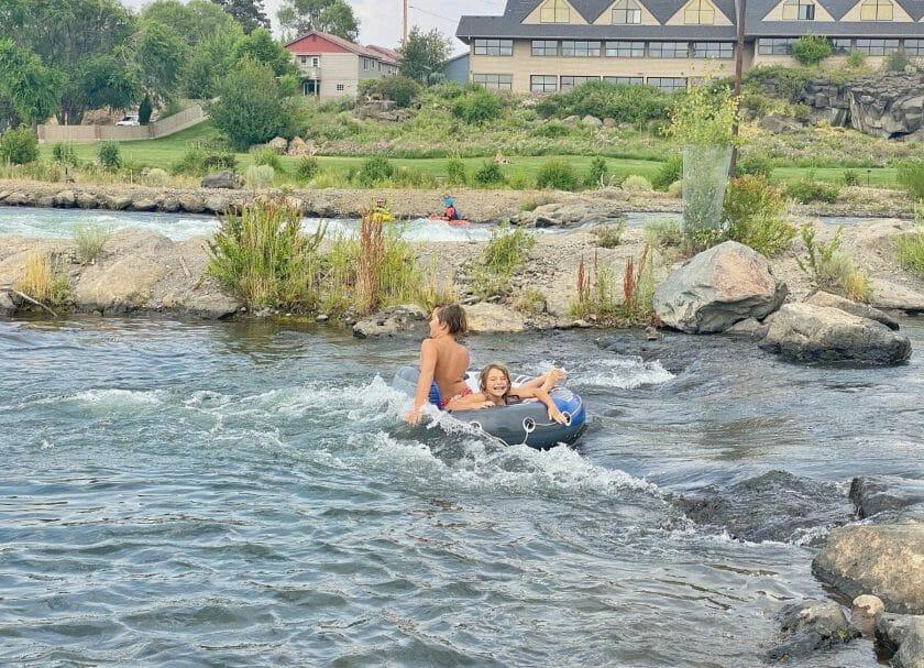 Hitting the rapids!
