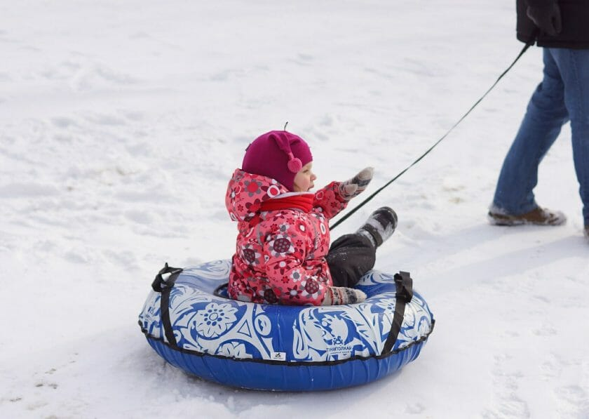 Wisconsin snow tubing