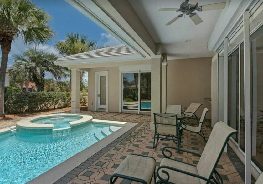 This is a photo of 6-BD Private Pool