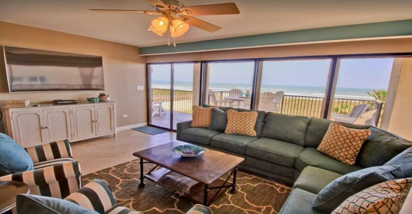 This is a picture of the Beachfront condo