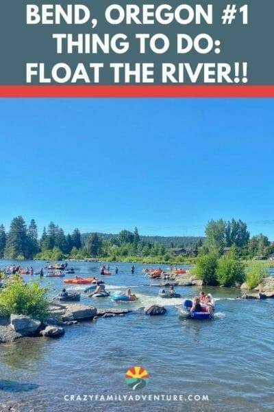 #1 things to do in Bend Oregon: Float the river! Here are all the details you need for an awesome float!