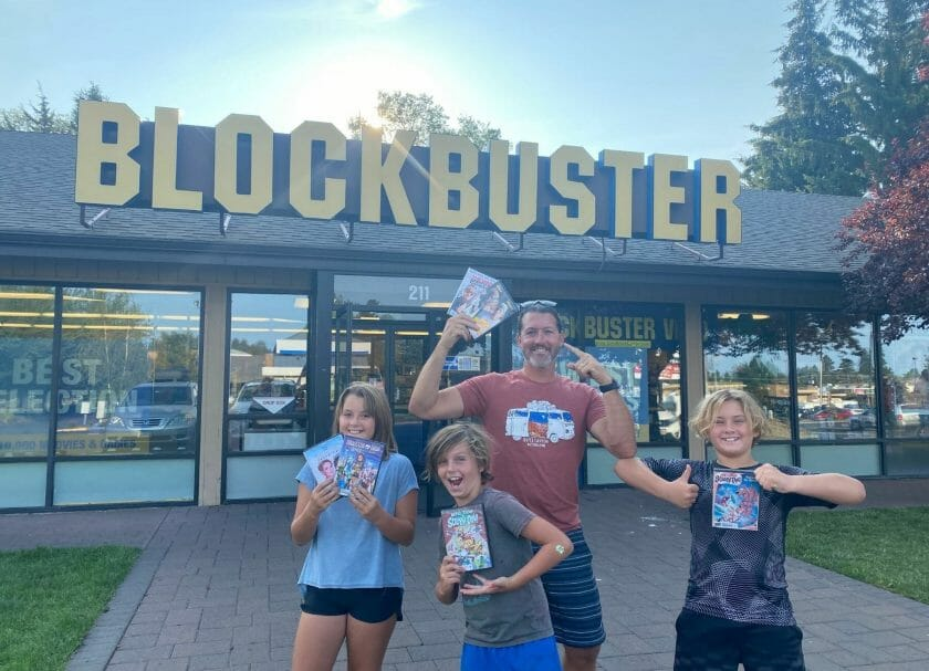 The last Blockbuster - a must thing to do in Bend!