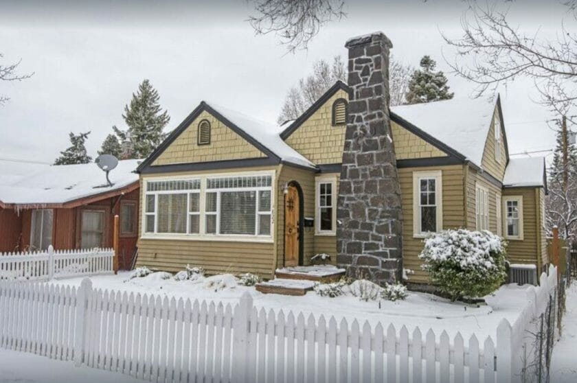 This is a picture of the Classic Craftsman as part of our VRBO Bend Oregon recommendations