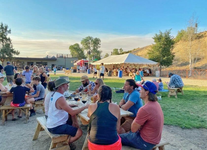 Cruz brewery in Bend