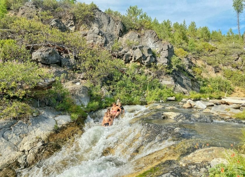 La Pine Natural Slides - Things To Do In Bend Oregon