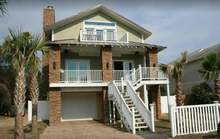 This is a photo of Frangista Beach House a VRBO Destin Florida option