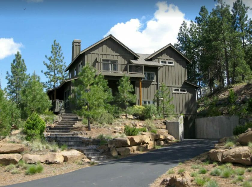 This is a picture of the Riverwild Retreat - VRBO Bend Oregon