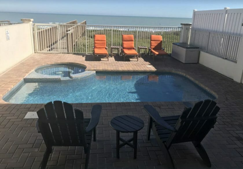 This is a picture of the Sandpiper VRBO house in South Padre Island