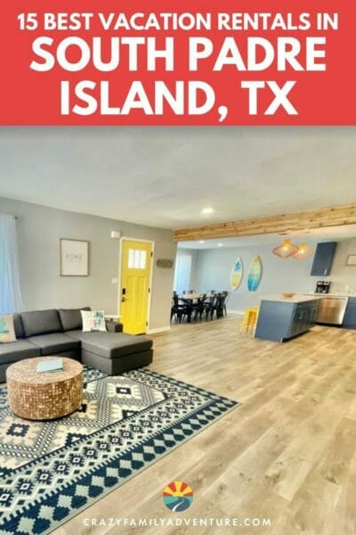 15 of the top VRBO South Padre Island vacation rentals for an amazing trip to the island! We did the research for you and found the best of the best!