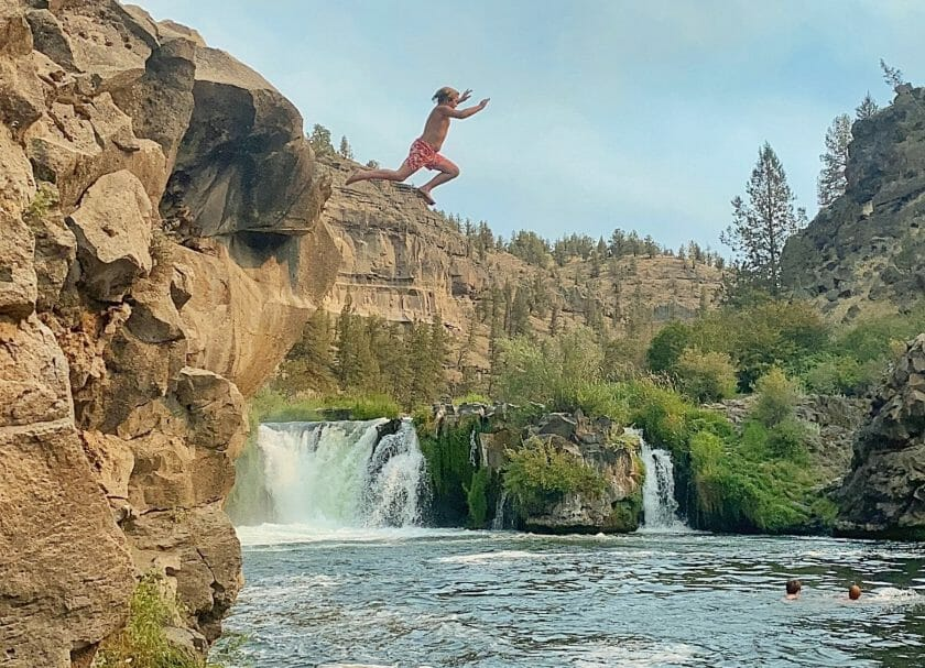 Stealhead Falls