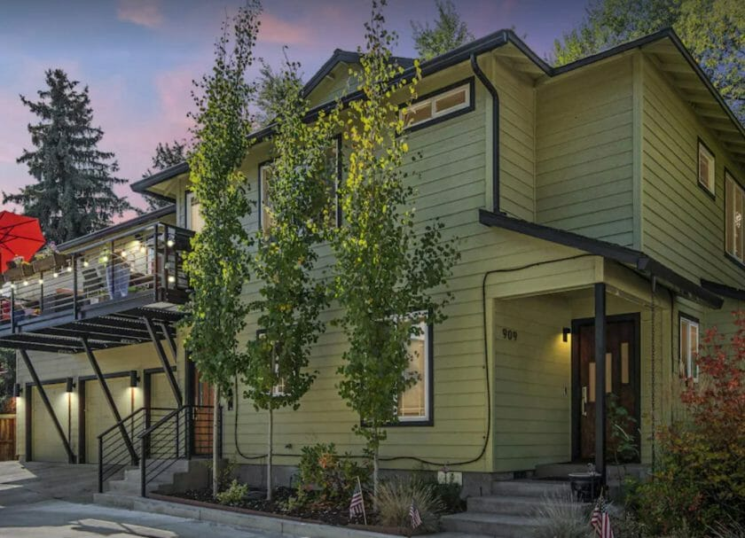 This is a picture of the Sweet Spot house a great VRBO Bend Oregon option!