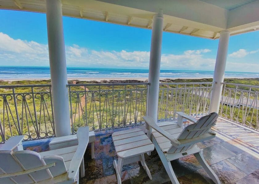This is a picture of The Shores house in South Padre Island