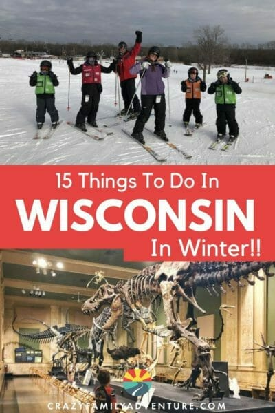 Looking for things to do in Wisconsin in winter? Check out these 15 amazing options for some ideas to get you started and love winter in Wisconsin!